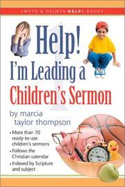 Help! I'm Leading a Children's Sermon PDF