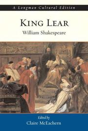 Cover of: The tragedy of King Lear by William Shakespeare