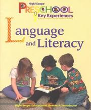 Language and Literacy (High/Scope Preschool Key Experiences) PDF