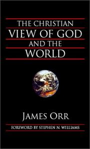 The Christian View of God and the World PDF