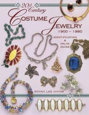 20th century costume jewelry by Ronna Lee Aikins