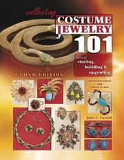 Collecting costume jewelry 101 by Julia C. Carroll