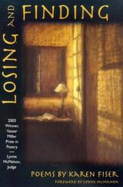 Losing and finding by Karen Fiser