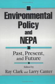 Environmental Policy and NEPA