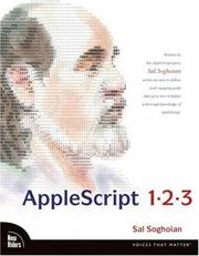 AppleScript 1-2-3 by Sal Soghoian