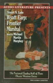 Wyatt Earp by Stuart N. Lake