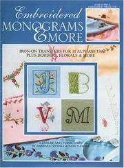Embroidered Monograms & More(Leisure Arts #1984)