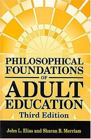 Philosophical foundations of adult education PDF
