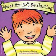 Words are not for hurting PDF