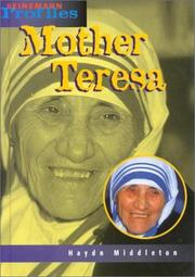 Mother Teresa by Haydn Middleton