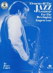 Elements of the Jazz Language for the Developing Improvisor PDF
