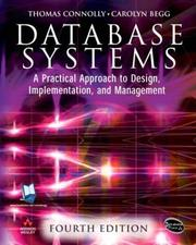 Database Systems; A Practical Approach to Design, Implementation and Management (4th Edition) (International Computer Science Series)