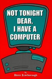 Not Tonight Dear, I Have a Computer PDF