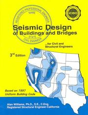 Seismic design of buildings and bridges by Williams, Alan