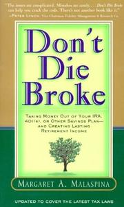 Don't Die Broke PDF