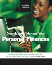 Organize and Manage Your Personal Finances (Survive and Thrive series) PDF