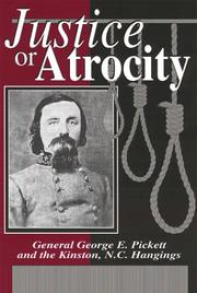 Justice or Atrocity by Gerard A. Patterson