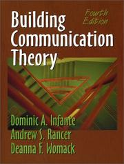 Building communication theory PDF