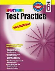 Spectrum Test Practice, Grade 6 PDF