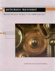 Performance improvement by Cynthia Barnard