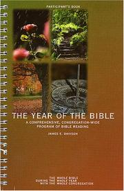 The Year of the Bible by James E. Davison