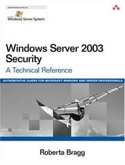 Windows Server 2003 security PDF