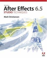 Adobe After Effects 6.5 Studio Techniques PDF