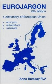 Eurojargon by Anne Ramsay