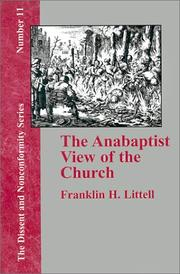 The Anabaptist View of the Church (Dissent and Nonconformity) PDF