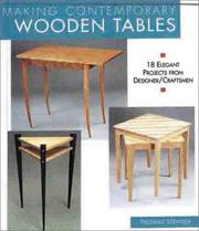 Making Contemporary Wooden Tables PDF