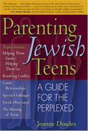 Parenting Jewish teens by Joanne Doades