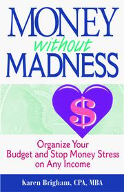 Money without madness by Karen Brigham