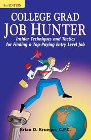 College grad job hunter by Brian D. Krueger