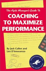 The agile manager's guide to coaching to maximize performance PDF