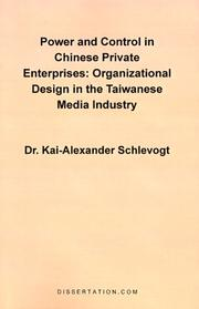 Power and Control in Chinese Private Enterprises PDF