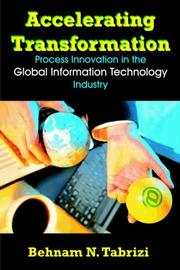 Accelerating Transformation by Behnam N. Tabrizi