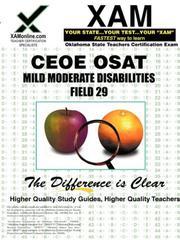 CEOE OSAT Mild-Moderate Disabilities 029 PDF