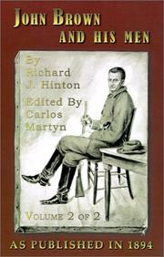 John Brown and His Men, Vol. 2 PDF