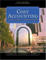 Cost accounting by Jesse T. Barfield