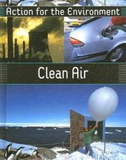 Cover of: Clean Air (Action for the Environment) by