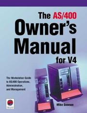 The AS/400 owner's manual for V4 PDF