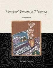 Personal financial planning by Gitman, Lawrence J.
