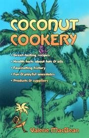 Coconut Cookery by Valerie Macbean