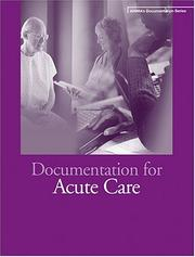 Cover of: Documentation for Acute Care (Ahima's Documentation) by Jean S. Clark