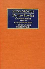 De jure praedae commentarius = by Hugo Grotius