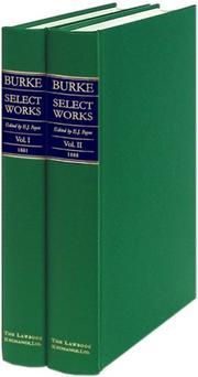 Burke, select works PDF