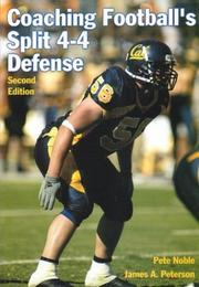 Coaching football's split 4-4 defense by Pete Noble