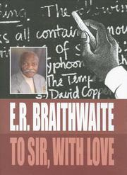 To Sir, With Love by E. R. Braithwaite