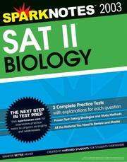 SAT II Biology (SparkNotes Test Prep) (SparkNotes Test Prep) PDF