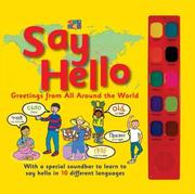 Say hello by Sue Unstead